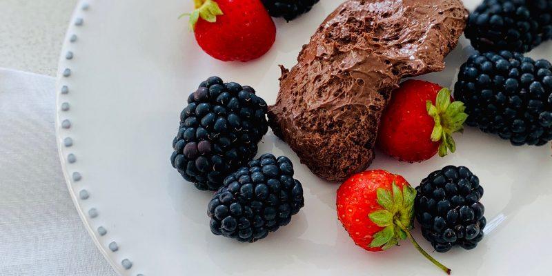 Mousse Chocolate 2 ingredientes